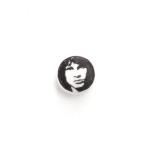 Aspirina - Jim Morrison, 2013, 25 x 25 cm, inchiostro su compressa di aspirina