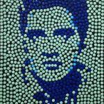 Little Elvis, 2011, tecnica mista, 45 x 45 cm