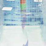 La stanza dell'acqua,stampa pigmento su carta cotone, 152 x 60 cm