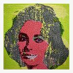 Lizy, 2010, tecnica mista, 120 x 120 cm