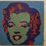Mareblu, 2011, tecnica mista, 100x 100 cm