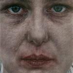 Person (elemento dell'installazione IRIDE), 2011, acquerello - china e pastello su carta, 48,2 x 29 cm