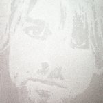 Heroes 2 (Kurt Cobain), 2010, 40 x 50 cm, valium e acrilico su tela