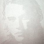 Heroes 1 (Heath Ledger), 2010, 40 x 50 cm, valium e acrilico su tela