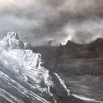 Untitled, 2009, olio su tela, cm 60x91,5